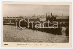 1915 ca DUBLIN Brasserie GUINNES Quai Victoria - Chargement des vapeurs Postcard