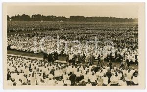 1932 DUBLIN Eucharistic Congress - High mass at Phoenix Park - Postcard FP NV