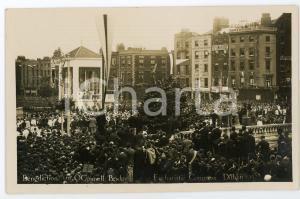 1932 DUBLIN Eucharistic Congress - Benediction on O'Connel Bridge - Postcard FP