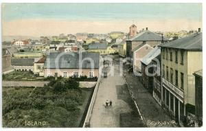 1920 ca REYKJAVIK (ISLAND) Cityview - Postcard FP NV