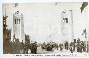 1932 DUBLIN Eucharistic Congress - Heralds awaiting Papal Legate - Postcard