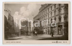 1910 ca BELFAST (NORTHERN IRELAND) Castle junction - Postcard FP VG