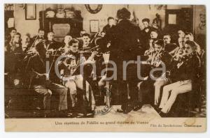 1927 VIENNE Gran Théatre - Une répétition de Fidélio - Postcard FP VG