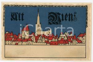 1900 ca ALT WIEN Anno Domini ILLUSTRATED Postcard FP NV