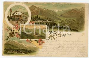 1901 PATSCH - TIROL (OSTERREICH) Patscherkofel ILLUSTRATED Postcard FP VG