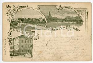 1898 KOJETIN (CZECH REPUBLIC) View of the town - Postcard FP VG