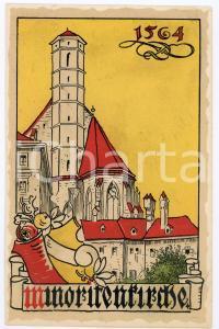 1900 ca WIEN Anno Domini 1564 Minoritenkirche ILLUSTRATED Postcard FP NV