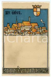 1900 ca WIEN Anno Domini 1630 - ILLUSTRATED Postcard FP NV