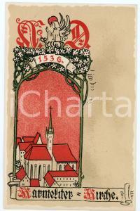 1900 ca WIEN Anno Domini 1536 Karmeliterkirche ILLUSTRATED Postcard FP NV