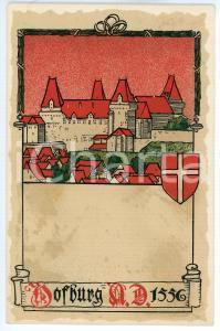 1900 ca WIEN Anno Domini 1556 Dorfburg ILLUSTRATED Postcard FP NV