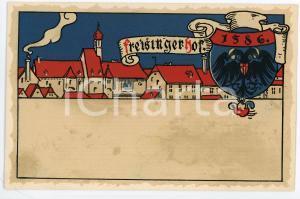 1900 ca WIEN Anno Domini 1586 Freisinger Hof ILLUSTRATED Postcard FP NV