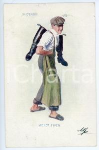 1901 WIEN - WIENER TYPE Schusterbub - Young shoemaker - Postcard FP