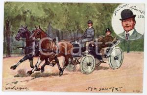 1920 ca HORSE Artist Ludwig KOCH Der Turk vom Kuplinger 258 ILLUSTRATED Postcard