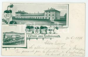 1898 VOJTANOV - VOITERSREUTH (CZECH) Bahnhof - Kapellenberg ILLUSTRATED Postcard