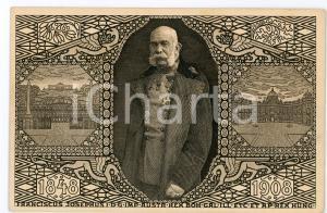 1908 OSTERREICH Franz Joseph I - Jubilee ILLUSTRATED Postcard FP NV