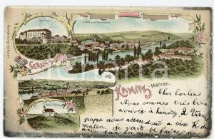 1898 KANICE - KANITZ (CZECH) Antoni-kirche ILLUSTRATED Postcard FP VG