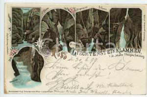 1899 ST. JOHANN IM PONGAU - SALZBURG Liechtensteinklammen - Postcard FP VG