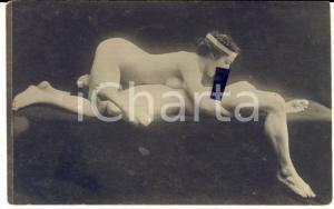 1910 ca VINTAGE EROTIC Nude couple having oral sex (7) RARE Photo PORN RPPC