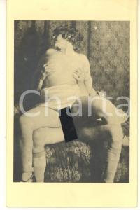 1940 ca VINTAGE EROTIC Nude couple having sex (7) RARE Photo PORN 9x14 cm