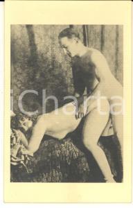 1940 ca VINTAGE EROTIC Nude couple having sex (9) RARE Photo PORN 9x14 cm