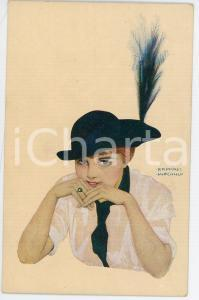 1915 ca Artist Raphael KIRCHNER - L'Implaquable Siska - Illustrated postcard