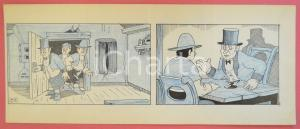 1950 ca DUTCH COMIC by A. REUVERS Original comic strip n.83 - ORIGINAL ART