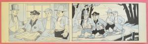 1950 ca DUTCH COMIC by A. REUVERS Original comic strip n.97 - ORIGINAL ART