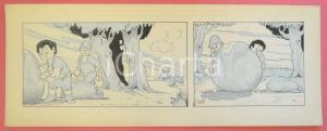 1950 ca DUTCH COMIC by A. REUVERS Original comic strip n.98 - ORIGINAL ART