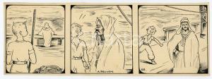 1940ca DRUMPIE'S DOLLE ADVENTUREN Comic strip 65 - A. REUVERS Omnium Press RARE