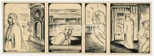 1940ca DRUMPIE'S DOLLE ADVENTUREN Comic strip 67 - A. REUVERS Omnium Press RARE
