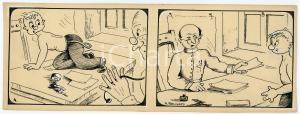1940ca DRUMPIE'S DOLLE ADVENTUREN Comic strip 4 - A. REUVERS Omnium Press RARE
