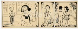 1940ca DRUMPIE'S DOLLE ADVENTUREN Comic strip 5 - A. REUVERS Omnium Press RARE