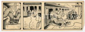 1940ca DRUMPIE'S DOLLE ADVENTUREN Comic strip 7 - A. REUVERS Omnium Press RARE