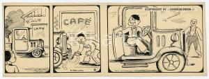 1940ca DRUMPIE'S DOLLE ADVENTUREN Comic strip 9 - A. REUVERS Omnium Press RARE