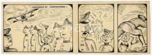 1940ca DRUMPIE'S DOLLE ADVENTUREN Comic strip 15 - A. REUVERS Omnium Press RARE
