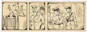 1940ca DRUMPIE'S DOLLE ADVENTUREN Comic strip 17 - A. REUVERS Omnium Press RARE