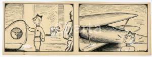 1940ca DRUMPIE'S DOLLE ADVENTUREN Comic strip 19 - A. REUVERS Omnium Press RARE
