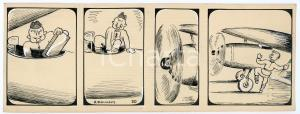 1940ca DRUMPIE'S DOLLE ADVENTUREN Comic strip 20 - A. REUVERS Omnium Press RARE