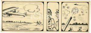 1940ca DRUMPIE'S DOLLE ADVENTUREN Comic strip 21 - A. REUVERS Omnium Press RARE