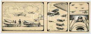 1940ca DRUMPIE'S DOLLE ADVENTUREN Comic strip 22 - A. REUVERS Omnium Press RARE