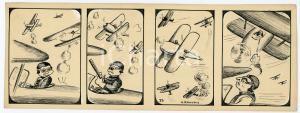 1940ca DRUMPIE'S DOLLE ADVENTUREN Comic strip 23 - A. REUVERS Omnium Press RARE