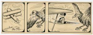 1940ca DRUMPIE'S DOLLE ADVENTUREN Comic strip 25 - A. REUVERS Omnium Press RARE