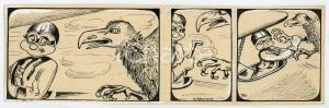 1940ca DRUMPIE'S DOLLE ADVENTUREN Comic strip 26 - A. REUVERS Omnium Press RARE