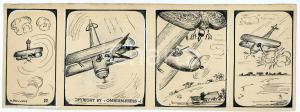 1940ca DRUMPIE'S DOLLE ADVENTUREN Comic strip 27 - A. REUVERS Omnium Press RARE