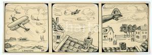 1940ca DRUMPIE'S DOLLE ADVENTUREN Comic strip 28 - A. REUVERS Omnium Press RARE
