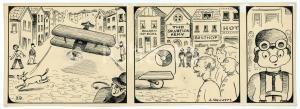 1940ca DRUMPIE'S DOLLE ADVENTUREN Comic strip 29 - A. REUVERS Omnium Press RARE