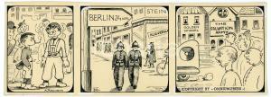 1940ca DRUMPIE'S DOLLE ADVENTUREN Comic strip 30 - A. REUVERS Omnium Press RARE