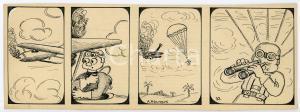1940ca DRUMPIE'S DOLLE ADVENTUREN Comic strip 32 - A. REUVERS Omnium Press RARE