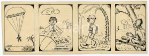 1940ca DRUMPIE'S DOLLE ADVENTUREN Colonial comic strip 33 - A. REUVERS *RARE