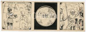 1940ca DRUMPIE'S DOLLE ADVENTUREN Colonial comic strip 39 - A. REUVERS *RARE